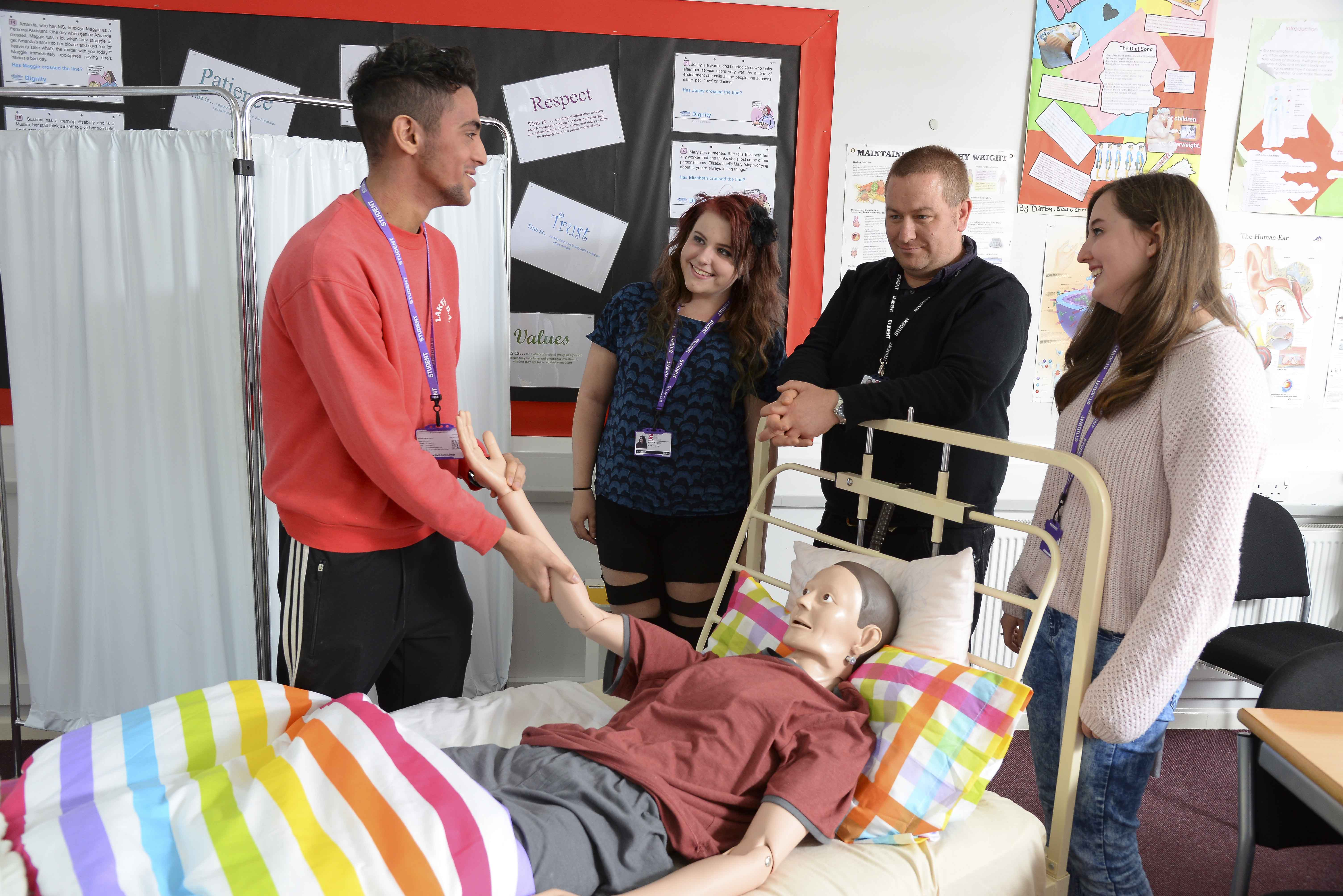Health & Social Care Cambridge Technical Level 2