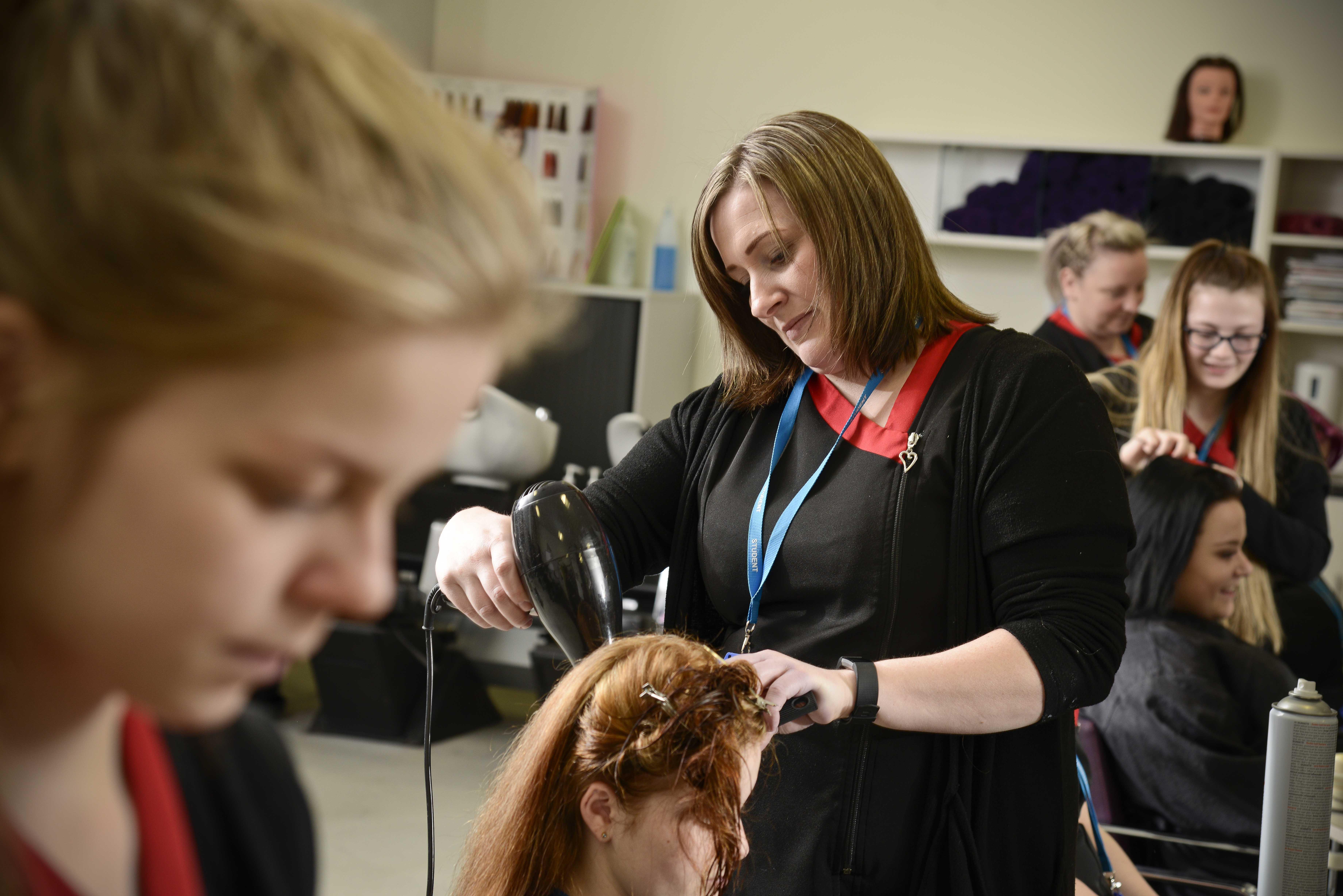 VTCT Level 2 Diploma Hair and Media Make-up Studies