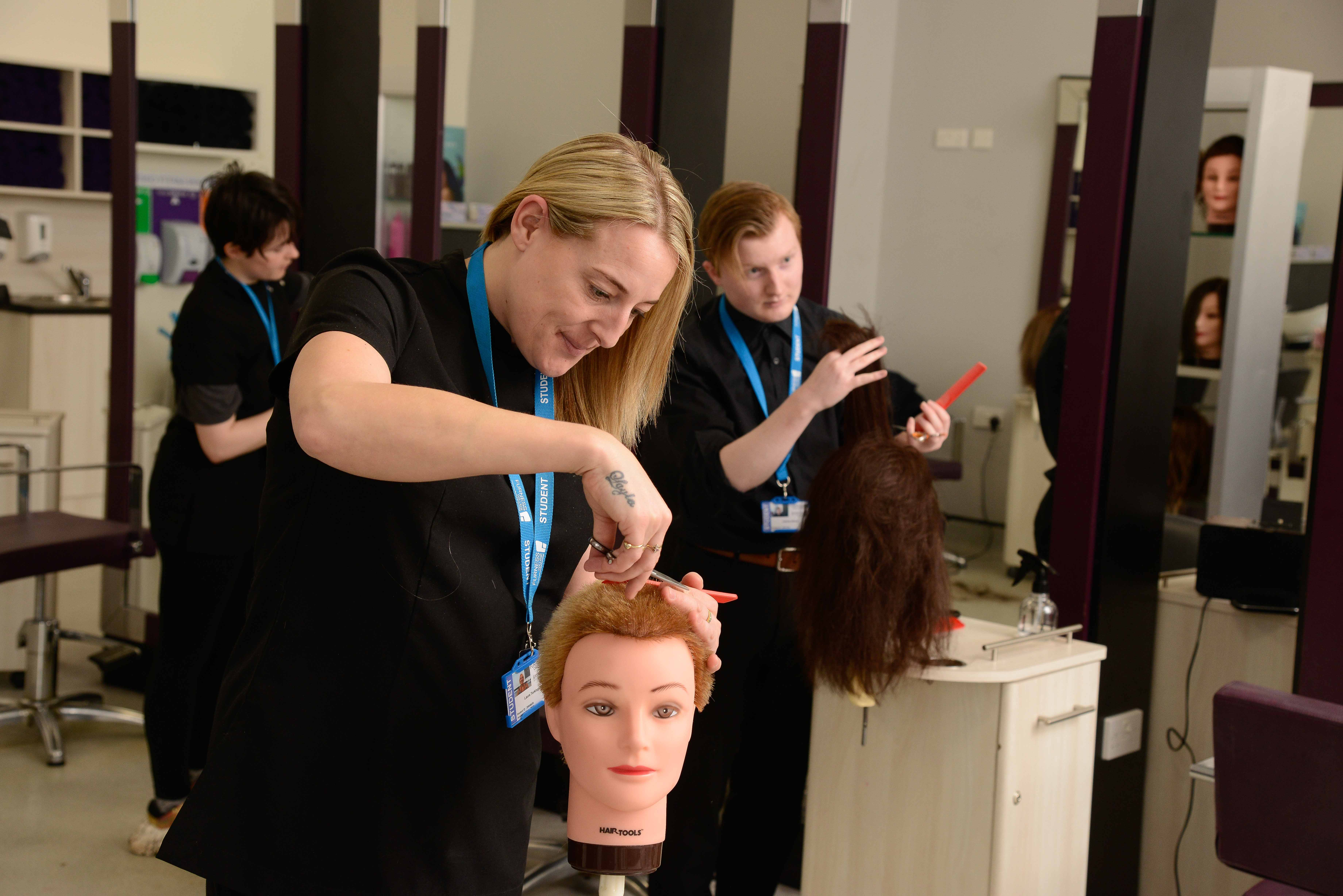 VTCT Level 2 NVQ Diploma in Hairdressing